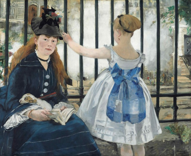 Manet,-The-Railway,-1873-sm