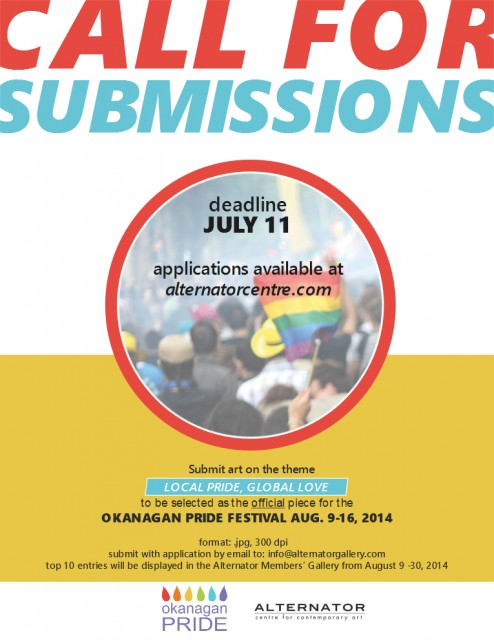 Call for Submissions - Local Pride, Global Love