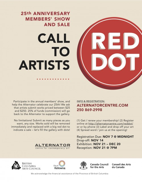 RedDot Call for Submissions